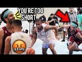 Julian Newman GETS HEATED Vs TRASH TALKER At Venice Beach!! Drops 35 Points and Shows Off HANDLES!!