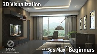 3D Visualization for beginners   Learn 3ds Max, Corona and Photoshop