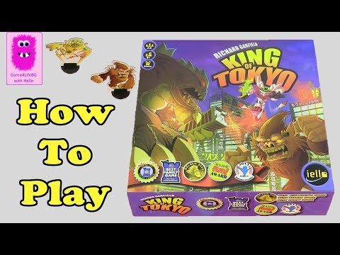How to play - King of Tokyo