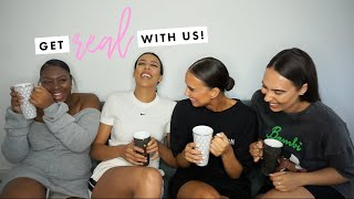GET REAL WITH US - Life After Uni, Starting A Business, Buying A House, Social Media & Friendships!