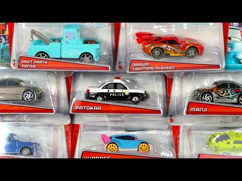 DISNEY PIXAR CARS TOKYO MATER DRIFT PARTY COLLECTION KYANDEE DRAGON LIGHTNING TALL TALES CARS TOON