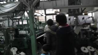 のこぎり屋根の織物工場見学と玉の井散策いちのみや大学講座
