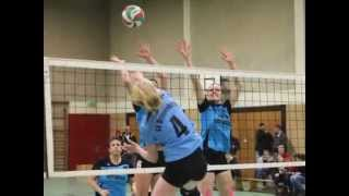 preview picture of video 'Volleyballkreis Höxter, Kreispokal Frauen, Endspiel 2014'