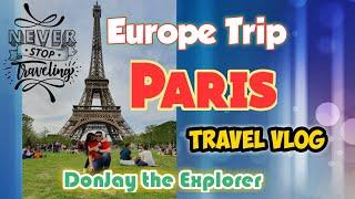PARIS TRAVEL VLOG | IDonJay