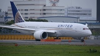 United Airlines Boeing 787-8 N20904 Takeoff from NRT 16R