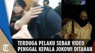 Terduga 2 Wanita Pelaku Penyebar Video Penggal Kepala Jokowi Berhasil Ditangkap Polda Metro Jaya