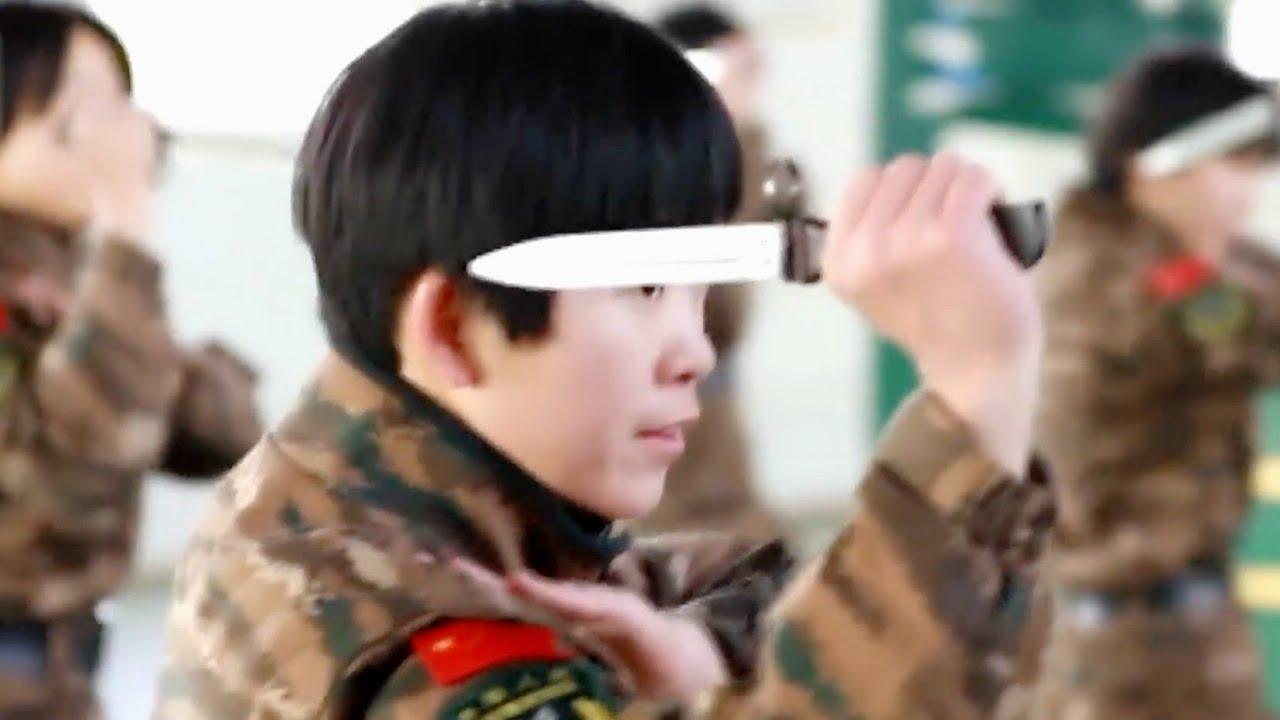 Женское подразделение спецназа в Китае