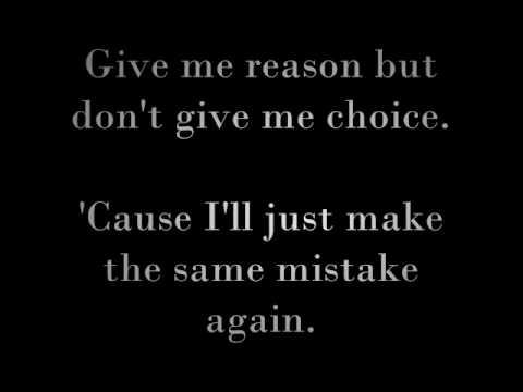Same Mistake by James Blunt (lyrics)