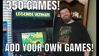 Is It Worth It? - AtGames Legends Ultimate Arcade - Add your OWN GAMES!!