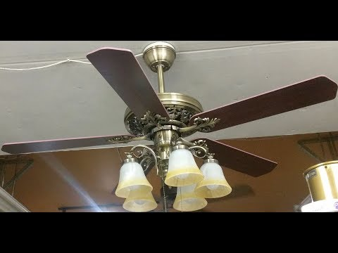 FINXIN FXCF03 Ceiling Fan Bronze Remote LED 52 Testing/Review