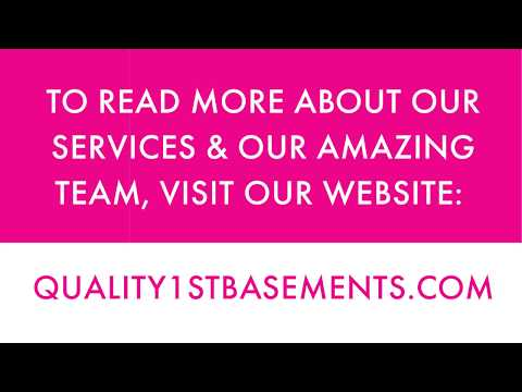 Quality 1st Basements Video Testimonial Tuesday