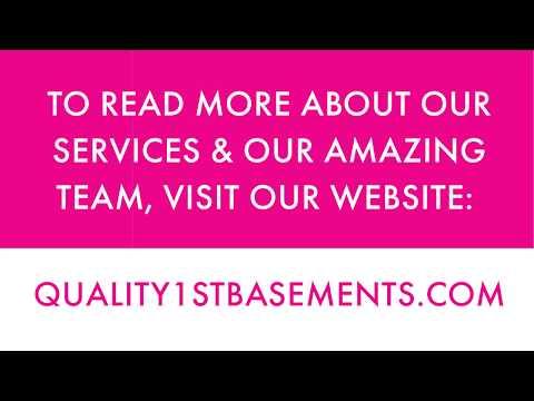 Quality 1st Basements Video Testimonial Tuesday