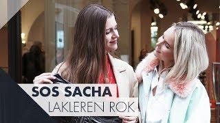 Hoe stylet Sacha Tiny's lakleren rok?