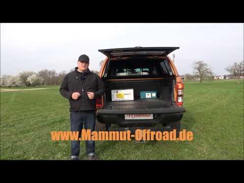 Antirutschmatte / Ladungssicherung Ford Ranger / Pickup
