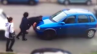 Stealing An ATM With An Excavator