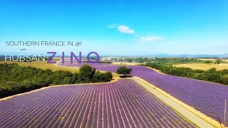 [4K] Southern France with Hubsan ZINO┃1st Vid after Repairs in China┃久々の空撮機(修理後初飛行)