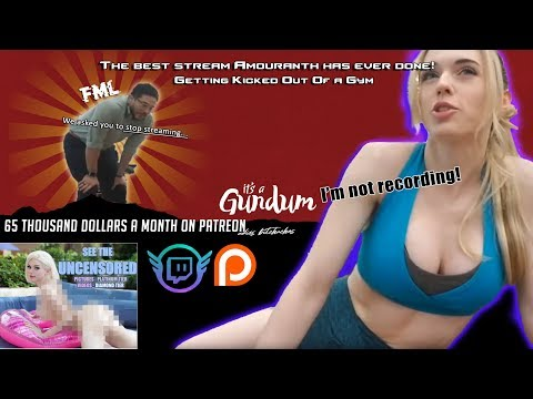 Download The best stream Amouranth has ever done Getting Kicked Out Of a Gym! Mp4 HD Video and MP3