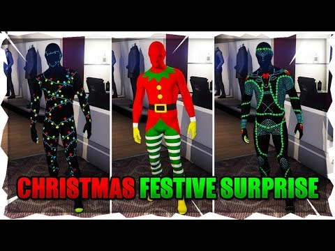 All Gta Christmas Masks.Gta Online Christmas Surprise Dlc Update Clothing Mask