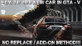 how to install addon car mods in gta v pc - TH-Clip