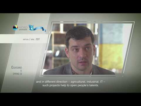 Video feedback of Oleksandr Korytov, graduate of the Ukraine-Norway project