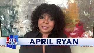 """April Ryan's Unfiltered Take On Kayleigh McEnany, Kanye West's Candidacy, And Our """"Racist-In-Chie…"""