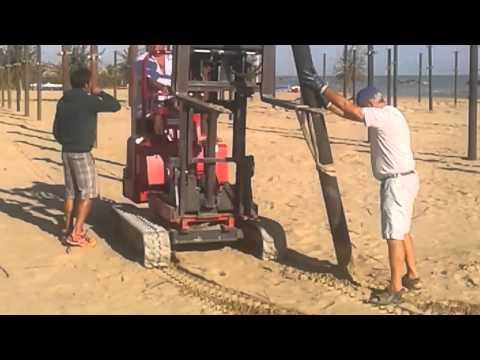 Palmas Beach offre il servizio di rimessaggio delle attrezzature per gli stabilimenti balneari