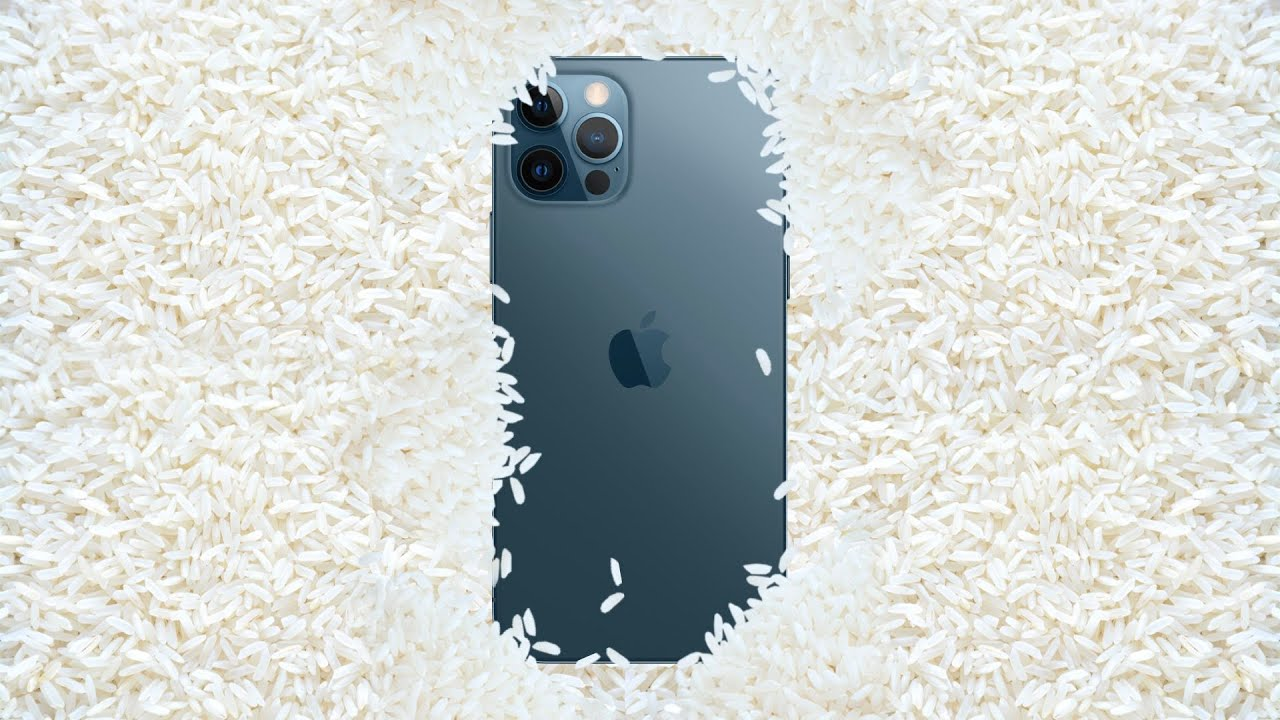 Why You Shouldn't Put Your iPhone In Rice