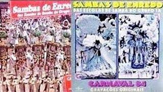 Grandes Sambas De Enredo Inesquecíveis Do Carnaval Rio 1983  1984