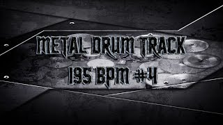 Metalcore Drum Track 195 BPM (HQ,HD) | Preset 2.0
