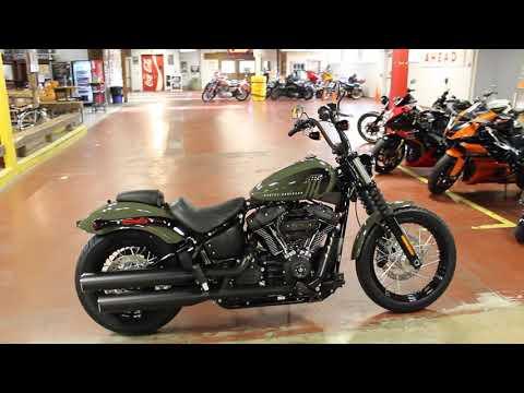 2021 Harley-Davidson Street Bob® 114 in New London, Connecticut - Video 1