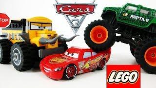 МУЛЬТИКИ про МАШИНКИ ЛЕГО Тачки 3 Маквин - Лучшие серии мультиков про машинки LEGO (2018)