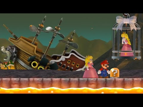 Download Newer Super Mario Bros Wii All Castle Bosses 2