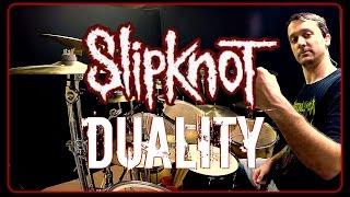 Gambar cover SLIPKNOT - Duality - Drum Cover
