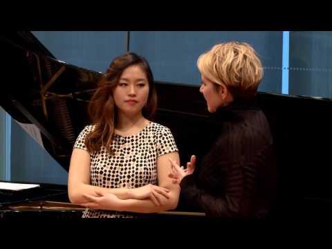 """Joyce DiDonato Master Class 2015: Handel's """"Piangerò la sorte mia"""" from Giulio Cesare"""