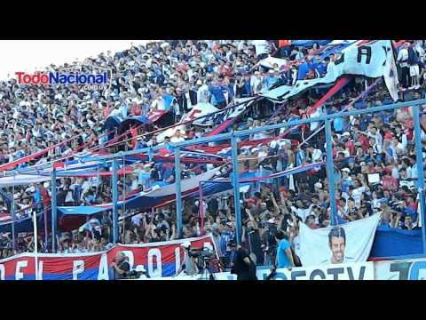 """""""LA LIBERTADORES TENES QUE GANAR + CUANDO YO ME MUERA"""" Barra: La Banda del Parque • Club: Nacional"""