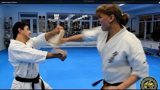 Каратэ против Бокса / Karate vs. Boxing