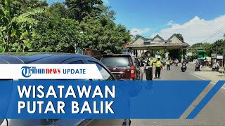 Puluhan Kedaraan Wisatawan yang Nekat ke Parangtritis di Tengah Corona Diminta Putar Balik