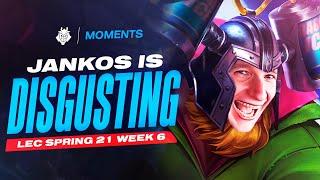 LEC : highlight de la semaine 6 des G2 Esports