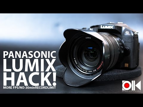 Hack your Lumix 4K camera to shoot unlimited time video!