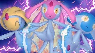 Uxie  - (Pokémon) - Minecraft : AZELF, UXIE E MESPRIT - POKEMON DA SORTE ‹ MayconLorenz ›