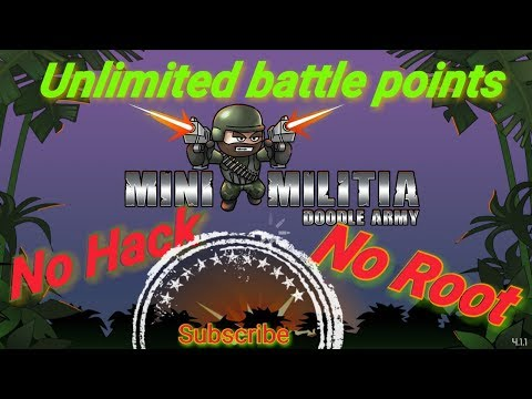 mini militia rank hack without root download