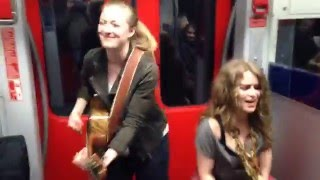 Girls Train Jam With Heidi Joubert & Anna Guder  Prince Cover Kiss