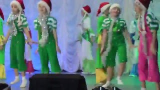 танцы под Jingle bells