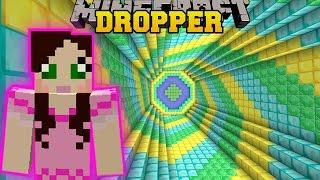 Minecraft: SECRET TREASURE DROPPER!! - THE ABSURD DROPPER - Custom Map [2]