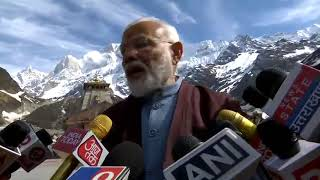 PM Modi offers prayers at Kedarnath Temple, Uttarakhand: 19 May 2019