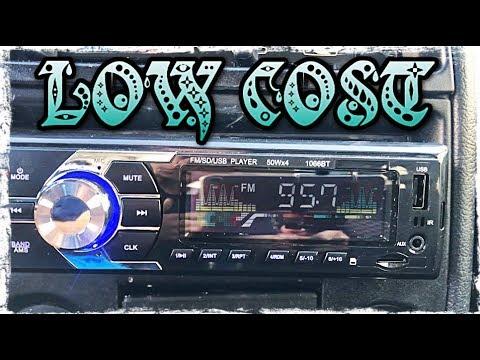 INSTALAR RADIO EN COCHE ANTIGUO (15€)   COMO CONECTAR LOS CABLES