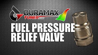 Fuel Pressure Relief Valve - WHAT YOU NEED TO KNOW!
