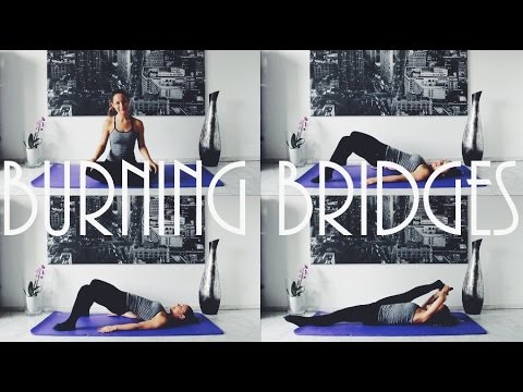 Butt Workout 5 Min, Burning Bridge Exercises