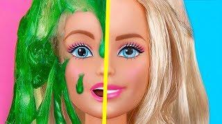 Миниатюрные игрушки-антистресс для Барби / 9 лайфхаков и поделок с Барби