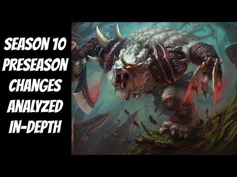 Season 10 Changes Analyzed In-Depth -- The Strategy Professor -- League of Legends